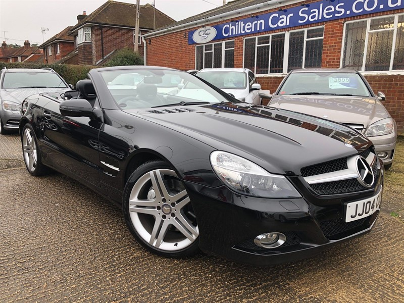 used Mercedes SL350 Sport Edition 7G-Tronic in high-wycombe-buckinghamshire