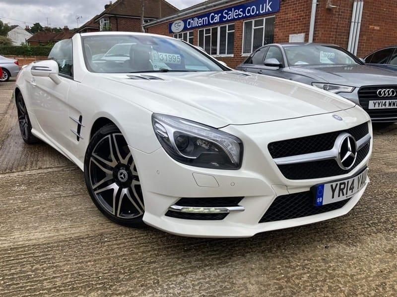 used Mercedes SL500 AMG Sport in high-wycombe-buckinghamshire