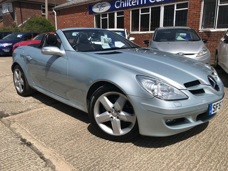 used Mercedes SLK SLK200 Kompressor 2dr in high-wycombe-buckinghamshire
