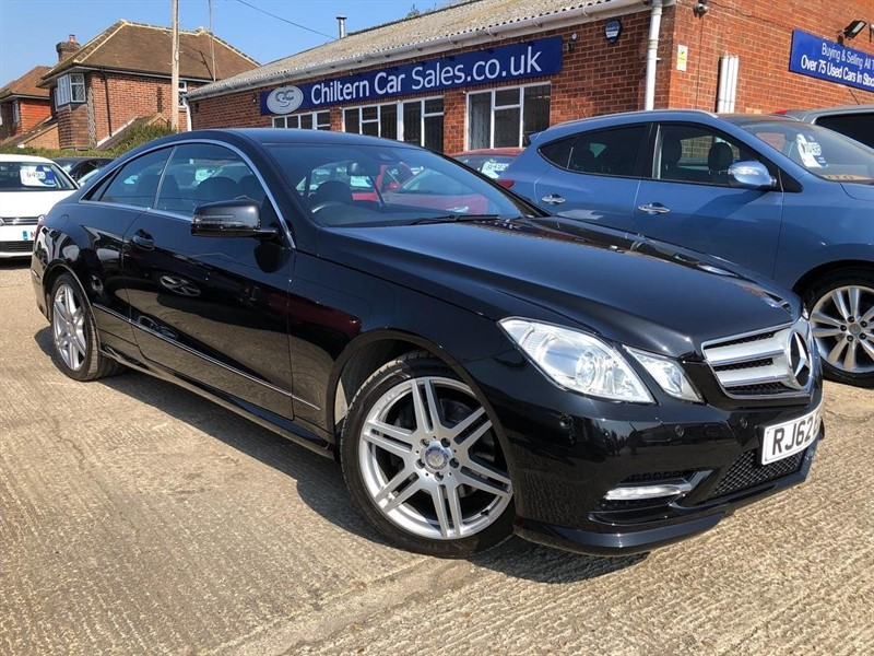 used Mercedes  E Class CDI BlueEFFICIENCY Sport G-Tronic 2dr in high-wycombe-buckinghamshire