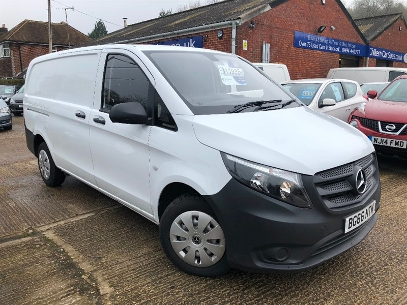 used Mercedes Vito 111CDI Extra Long Panel Van 6dr in high-wycombe-buckinghamshire