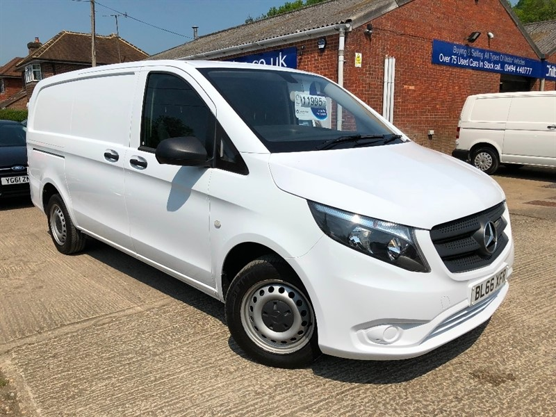 used Mercedes Vito 109CDI Extra Long Panel Van 6dr in high-wycombe-buckinghamshire