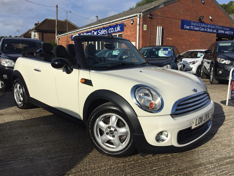 used MINI Convertible One (Salt) 2dr in high-wycombe-buckinghamshire