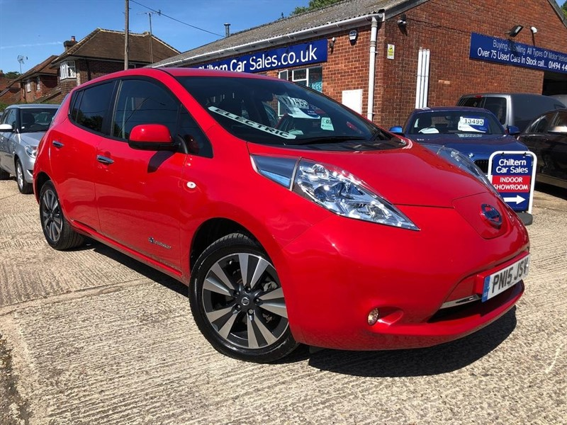 used Nissan Leaf (24kWh) Tekna 5dr in high-wycombe-buckinghamshire