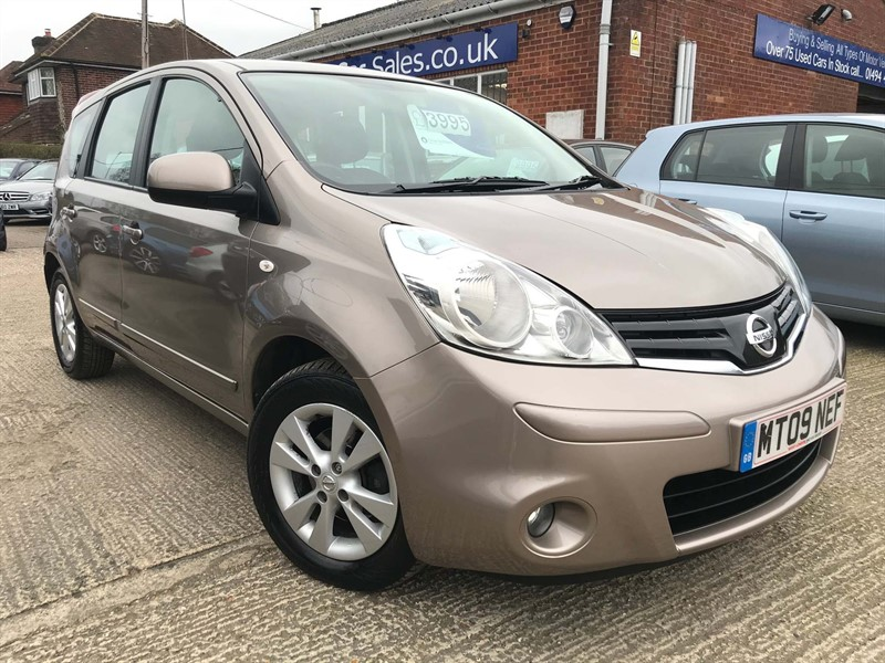 used Nissan Note 16v Acenta in high-wycombe-buckinghamshire