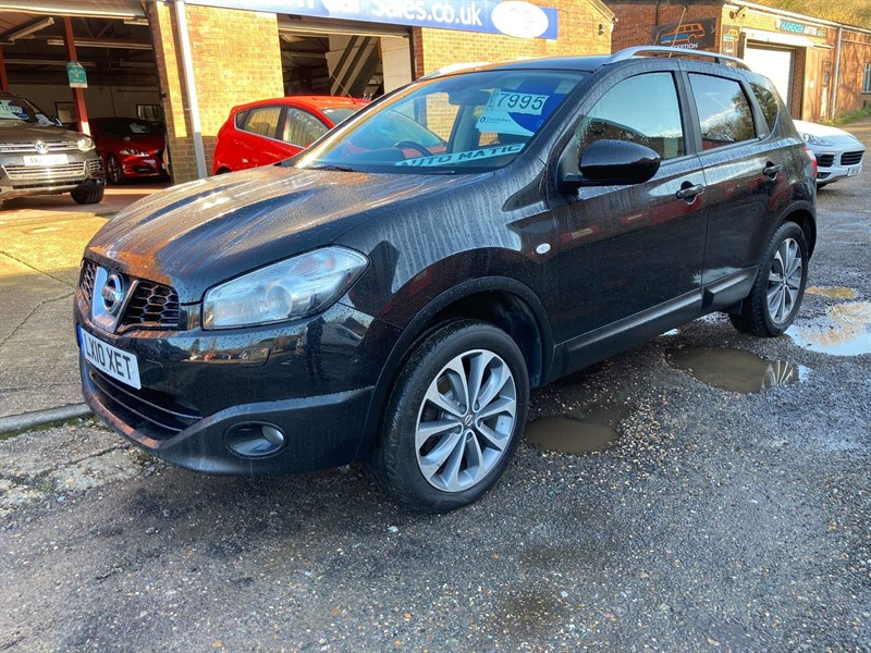 used Nissan Qashqai Tekna CVT 2WD in high-wycombe-buckinghamshire