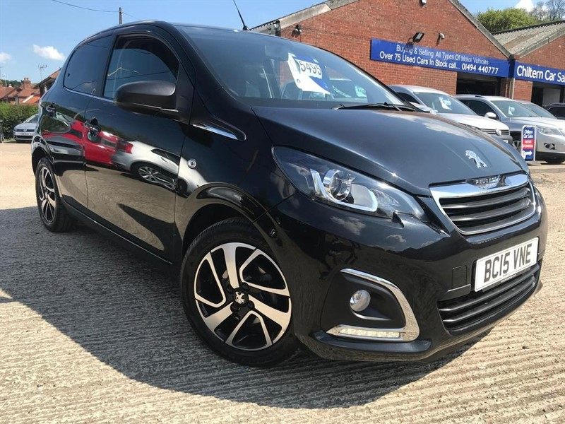 used Peugeot 108 PureTech Allure 5dr in high-wycombe-buckinghamshire