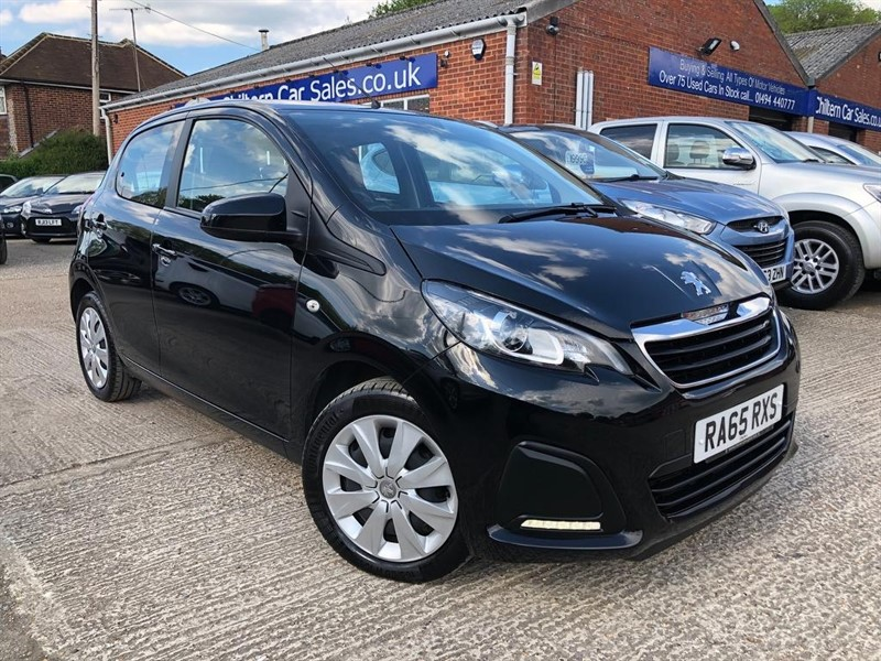 used Peugeot 108 Active 2-Tronic 5dr in high-wycombe-buckinghamshire