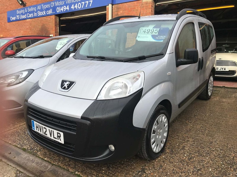 used Peugeot Bipper Tepee 1.3 HDi Tepee Outdoor (s/s) 5dr in high-wycombe-buckinghamshire
