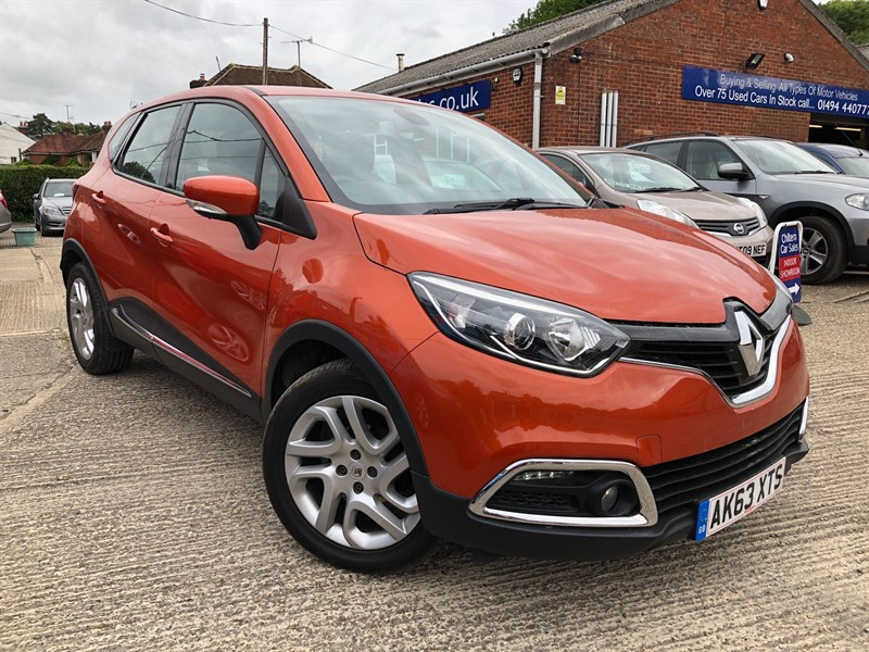 used Renault Captur TCe Dynamique MediaNav (s/s) in high-wycombe-buckinghamshire