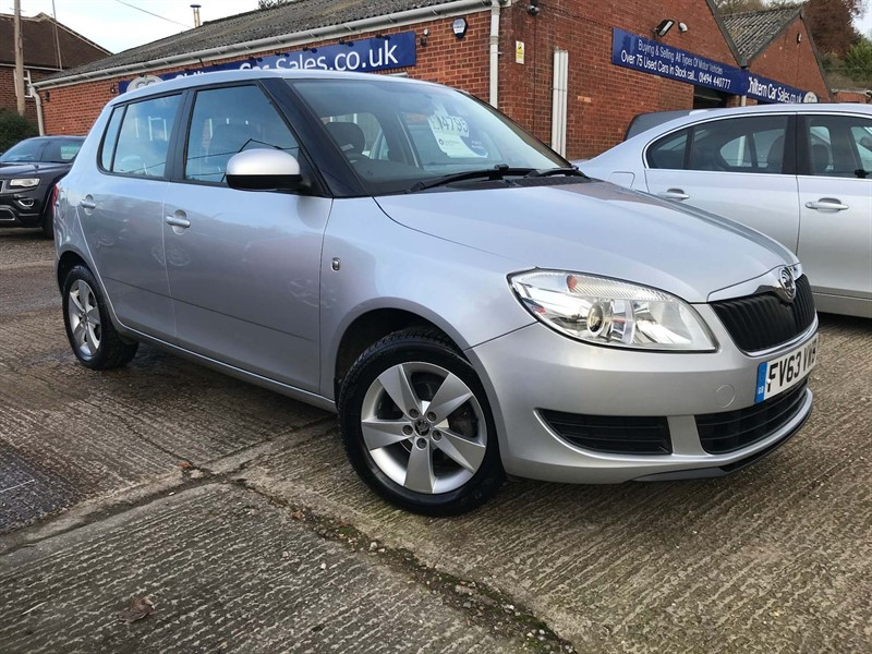 used Skoda Fabia TSI SE 5dr in high-wycombe-buckinghamshire