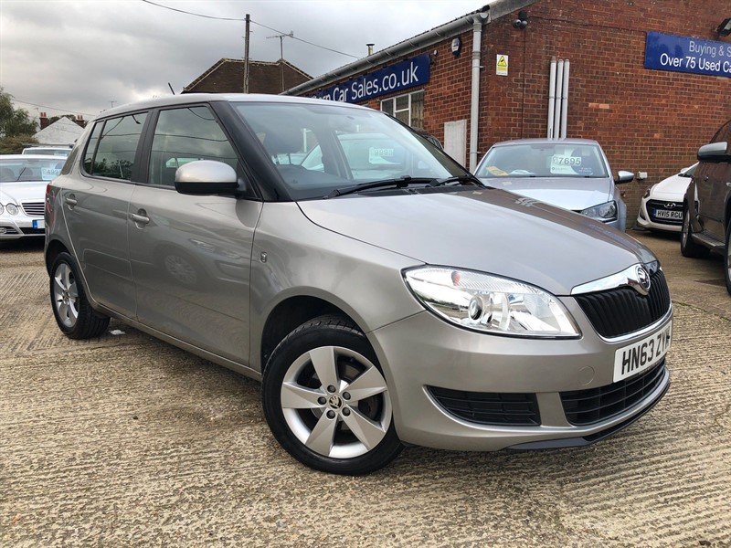 used Skoda Fabia SE 5dr in high-wycombe-buckinghamshire