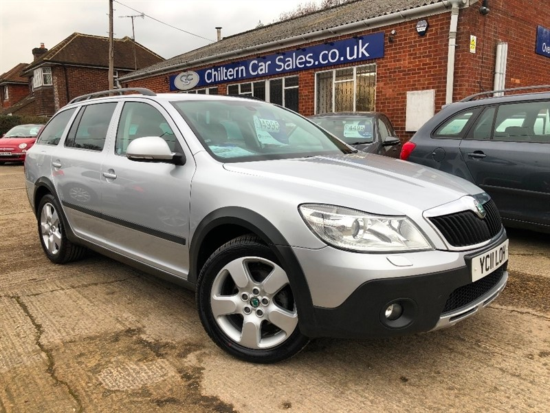used Skoda Octavia TDI CR Scout 5dr in high-wycombe-buckinghamshire