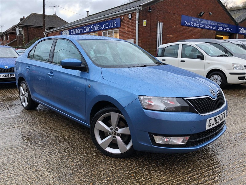 used Skoda Rapid TSI Elegance 5dr in high-wycombe-buckinghamshire