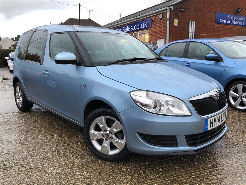 used Skoda Roomster TSI SE Action Model 5dr in high-wycombe-buckinghamshire