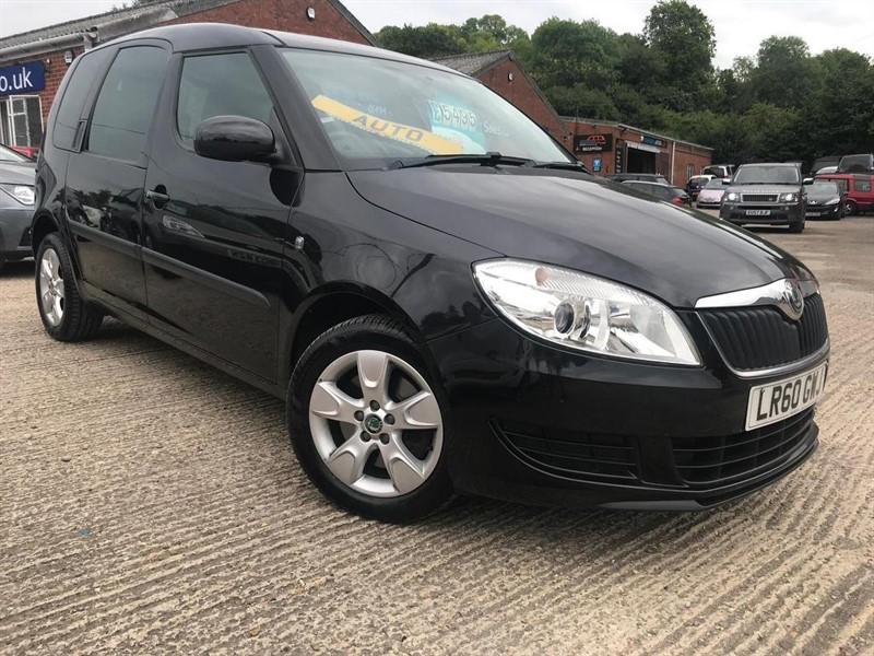 used Skoda Roomster TSI SE DSG 5dr in high-wycombe-buckinghamshire