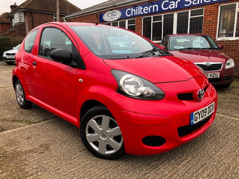 used Toyota Aygo VVT-i 3dr in high-wycombe-buckinghamshire