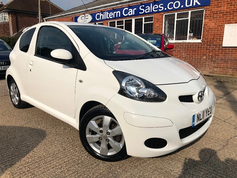 used Toyota Aygo VVT-i GO 3dr in high-wycombe-buckinghamshire