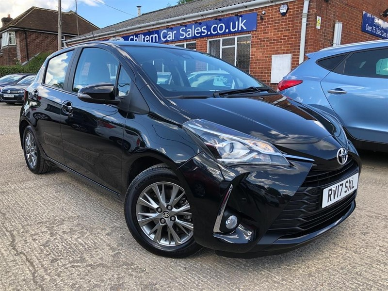 used Toyota Yaris VVT-i Icon Tech 5dr in high-wycombe-buckinghamshire