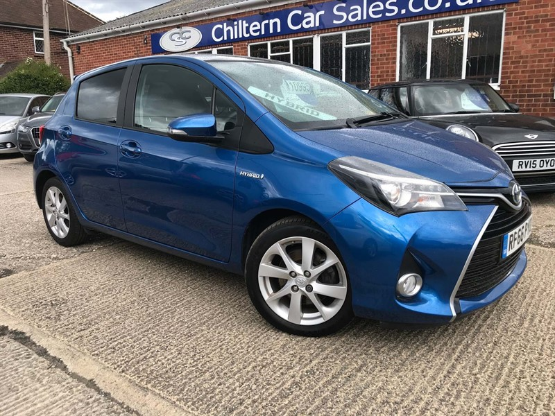 used Toyota Yaris VVT-h Excel E-CVT (15in Alloy) in high-wycombe-buckinghamshire