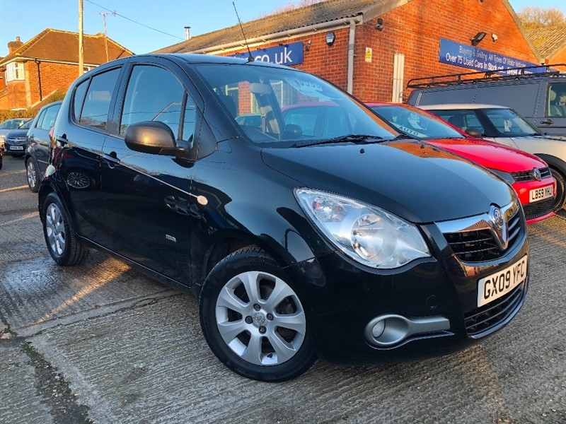 used Vauxhall Agila 1.2 i 16v Design 5dr (a/c) in high-wycombe-buckinghamshire