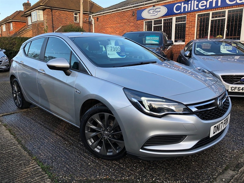 used Vauxhall Astra 1.4i Turbo Design 5dr in high-wycombe-buckinghamshire