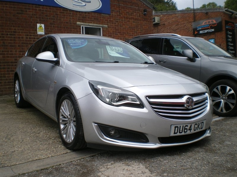 used Vauxhall Insignia CDTi ecoFLEX Tech Line 5dr (start/stop) in high-wycombe-buckinghamshire