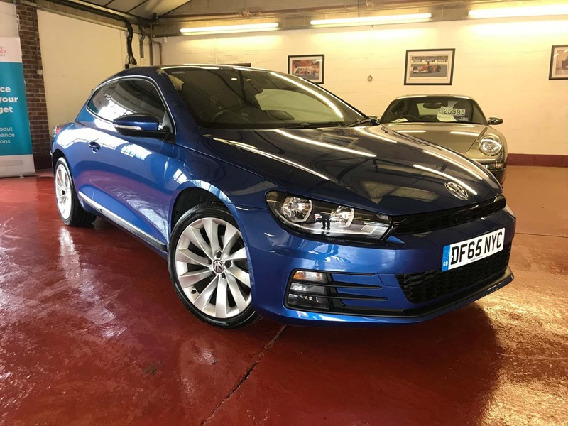 used VW Scirocco BlueMotion Tech GT Hatchback in high-wycombe-buckinghamshire