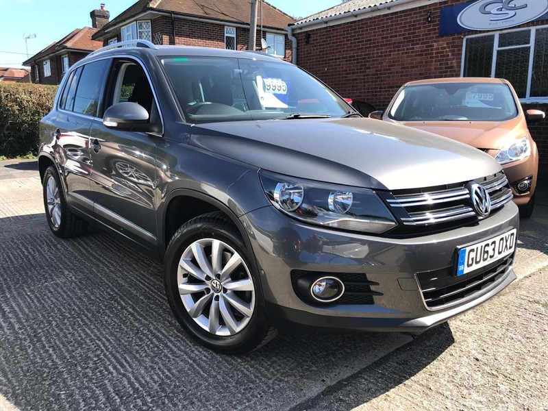 used VW Tiguan TDI BlueMotion Tech Match 2WD (s/s) 5dr in high-wycombe-buckinghamshire