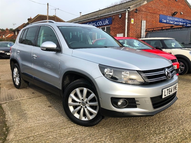 used VW Tiguan TDI BlueMotion Tech Match 4MOTION (s/s) 5dr in high-wycombe-buckinghamshire
