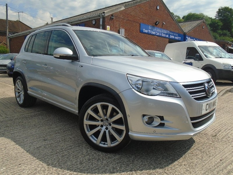 used VW Tiguan TDI R-Line DSG 4Motion 5dr in high-wycombe-buckinghamshire