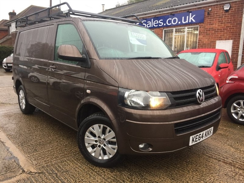 used VW Transporter TDI BlueMotion Tech T28 Highline Panel Van 4dr (SWB) in high-wycombe-buckinghamshire