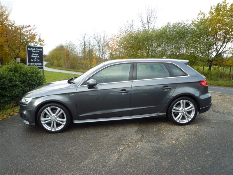 used Audi A3 TFSI CoD S line Sportback Tronic (s/s) 5dr in suffolk