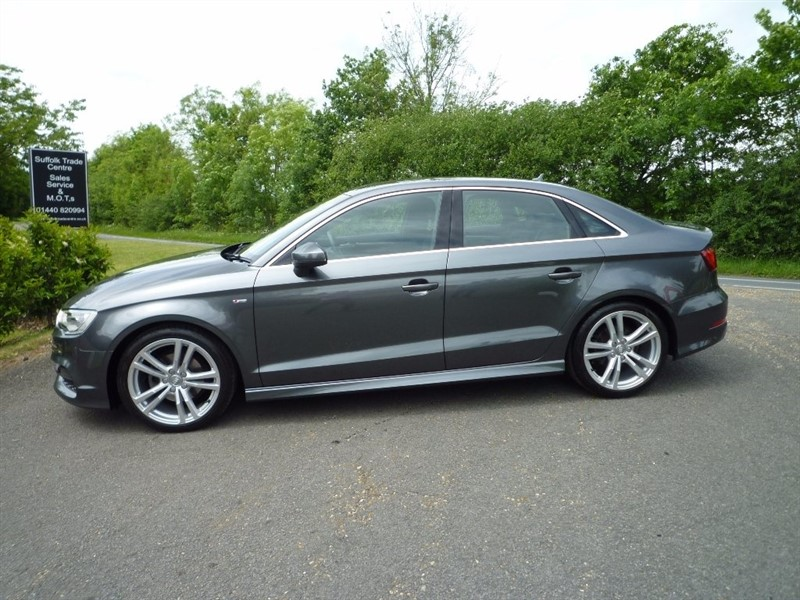 used Audi A3 TDI S Line Tronic 4dr (start/stop) in suffolk