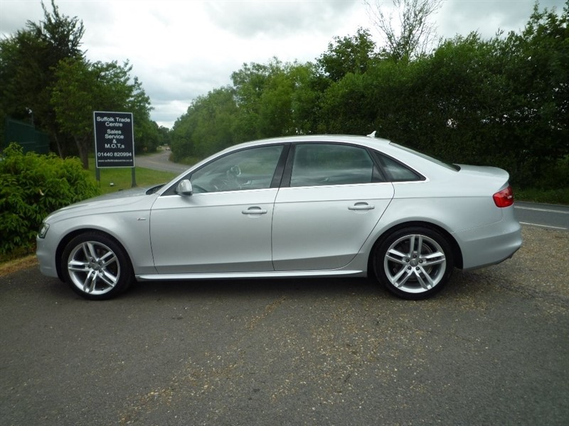used Audi A4 TDI S line Multitronic (s/s) 4dr in suffolk