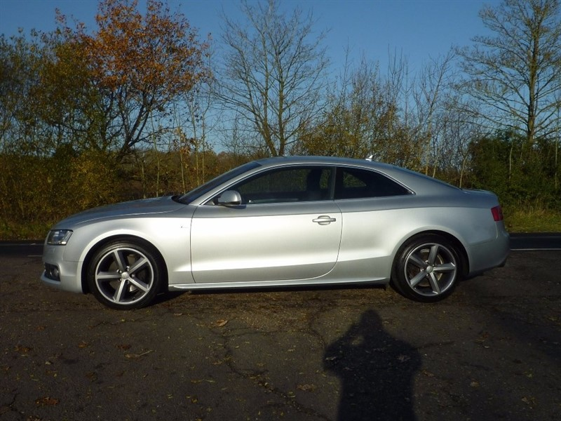 used Audi A5 TFSI S Line Special Edition Multitronic 2dr in suffolk
