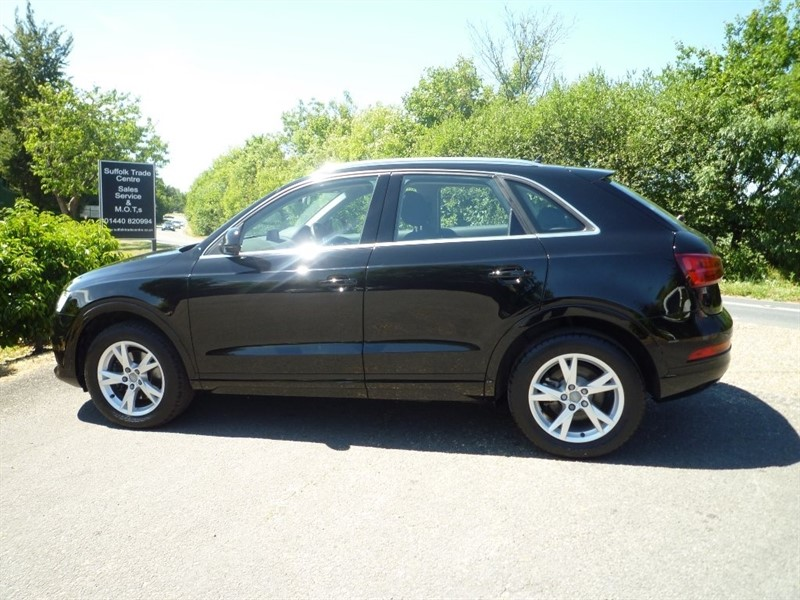 used Audi Q3 TDI SE (s/s) 5dr in suffolk