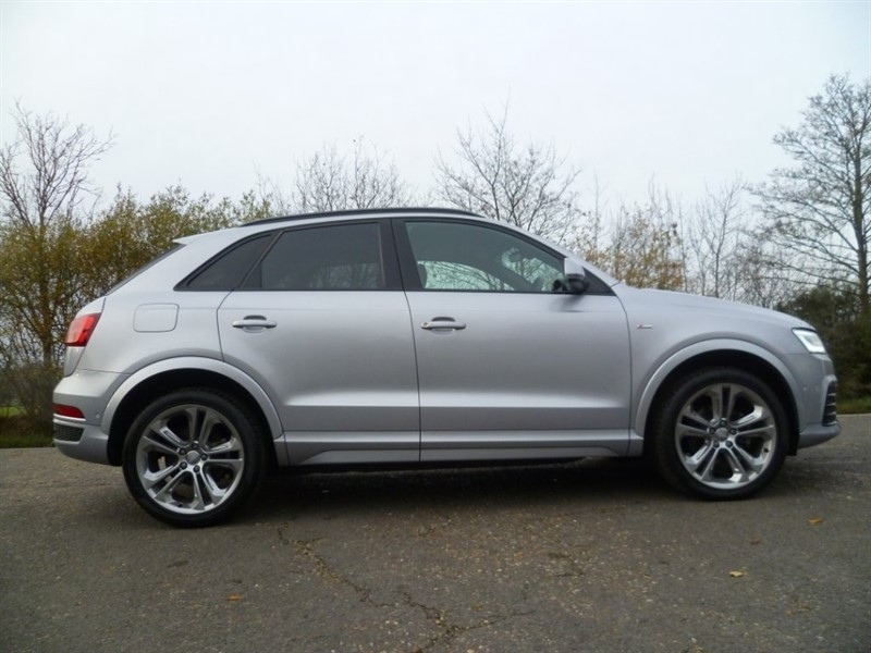 used Audi Q3 TDI S line Plus Tronic Quattro (s/s) 5dr in suffolk