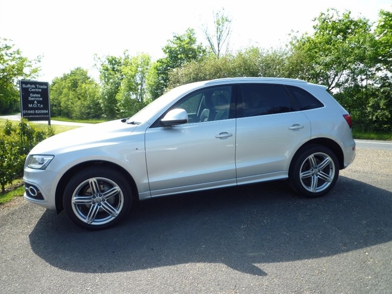 used Audi Q5 TDI S Line Plus Tronic Quattro 5dr (start/stop) in suffolk