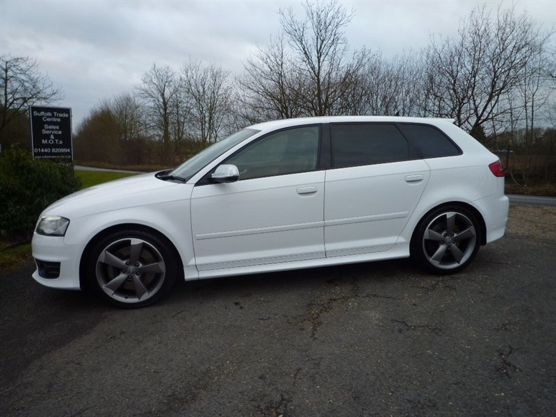 used Audi S3 TFSI Black Edition Sportback S Tronic Quattro 5dr in suffolk