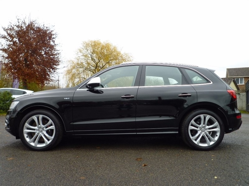 used Audi SQ5 BiTDi Tiptronic Quattro 5dr (start/stop) in suffolk