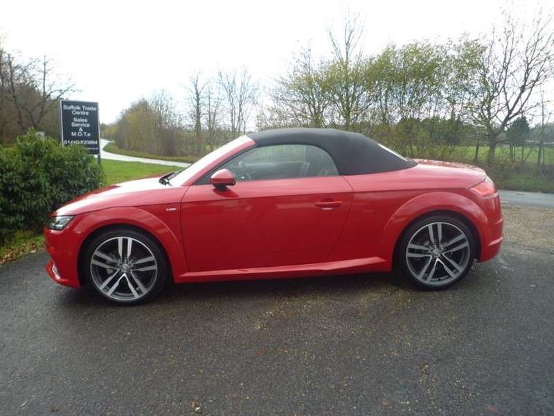 used Audi TT TFSI S line Roadster (s/s) 2dr in suffolk