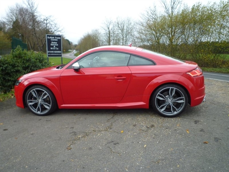 used Audi TTS TFSI S Tronic Quattro (s/s) 3dr in suffolk