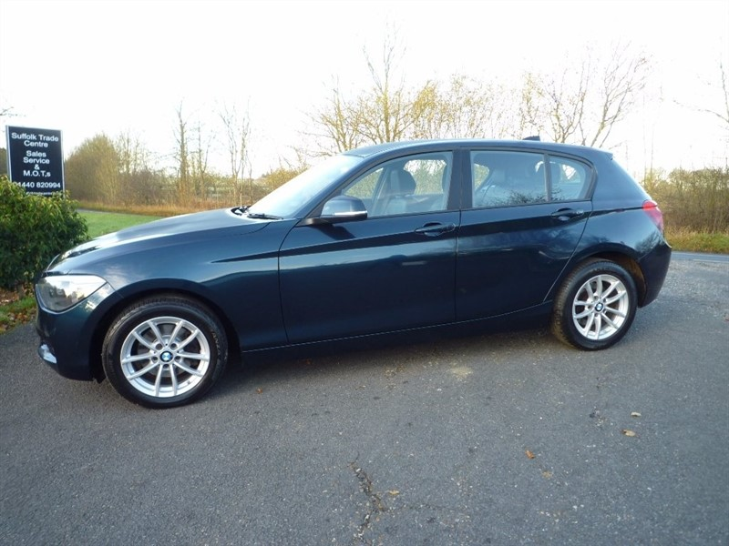 used BMW 120d 1 Series SE Sports Hatch xDrive 5dr (start/stop) in suffolk