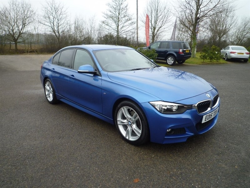 used BMW 320d 3 Series BluePerformance M Sport (s/s) 4dr in suffolk
