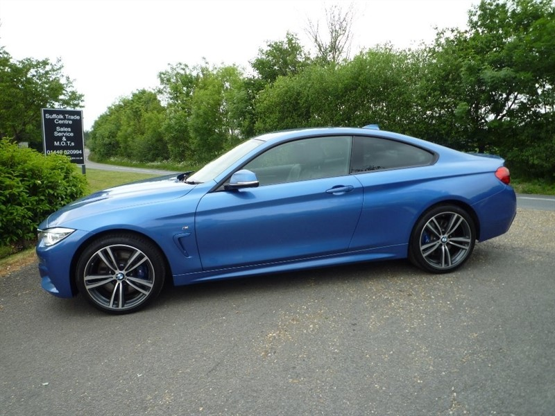 used BMW 430d 4 Series TD M Sport xDrive 2dr in suffolk