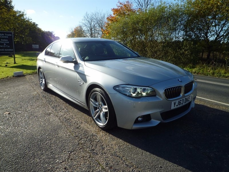 used BMW 520d 5 Series M Sport 4dr in suffolk