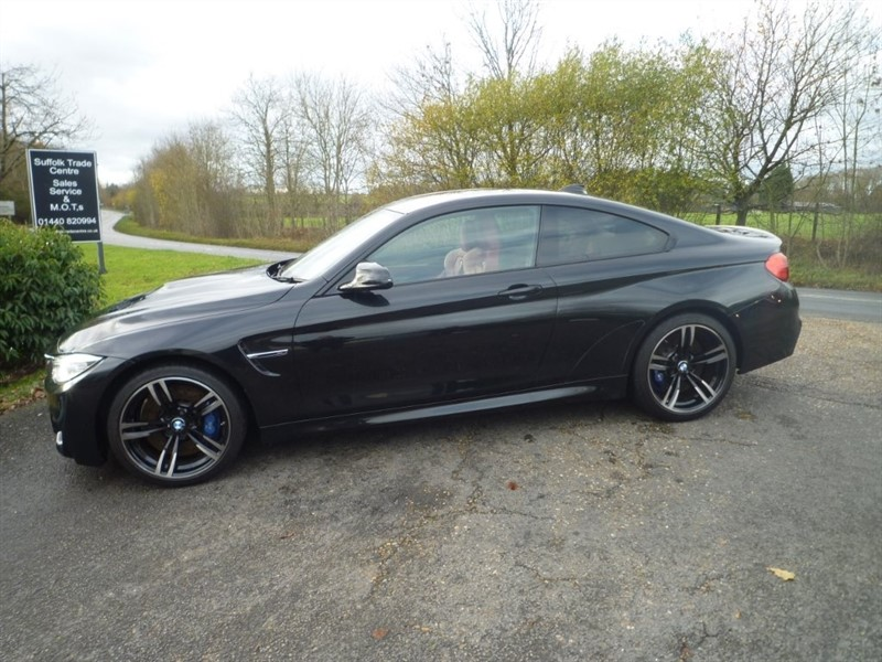 used BMW M4 M DCT (s/s) 2dr in suffolk