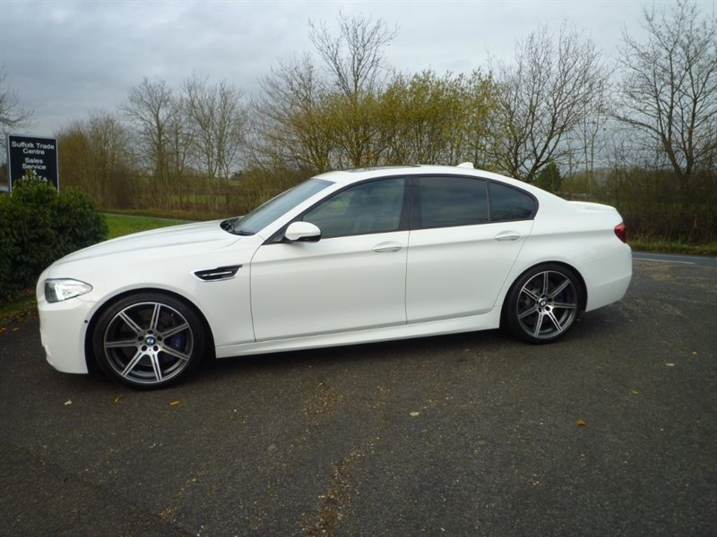 used BMW M5 M DCT 4dr in suffolk