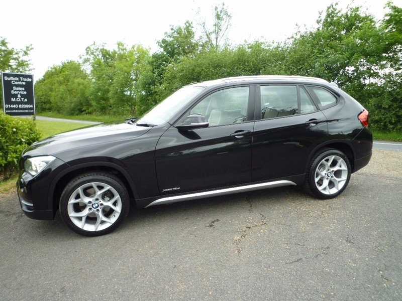 used BMW X1 18d xLine xDrive 5dr in suffolk